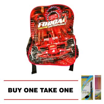 Harga Forca4 Backpack Bag (Small) Buy 1 Take 1 Box U-Smart Gel Pen and 1 Box U-Smart Pencil