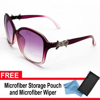 Iwear Collection Women's Fashion Sunglasses 0139 (Violet Lens) with FREE Microfiber Storage Pouch and Microfiber Wiper Price Philippines