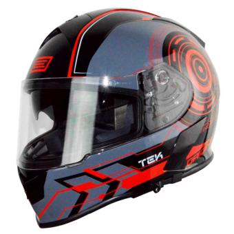 Harga Origine Italy Full Face OR 00082 GT TEK RED FLUO Helmet (2017 Collection) - LARGE