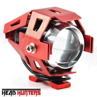 Harga U5 CREE-LED - Head Hunters LED Projector 3000LMW Headlight Fog Lamp (Red)