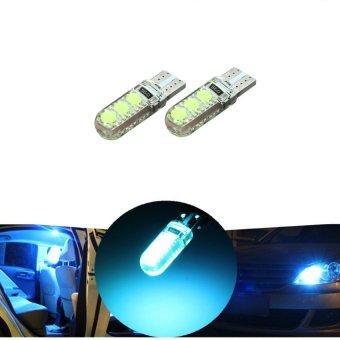 LED T10 Parklight Dome light Plate Light COB type (Ice Blue)