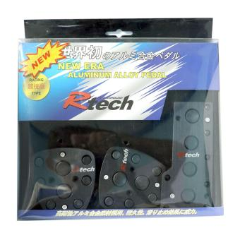 Harga NFSC - R TECH RACING TYPE PADS BLACK MLRT 13204BK