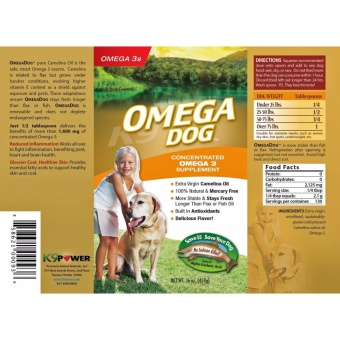 k9 Power Omega Dog 32 oz.