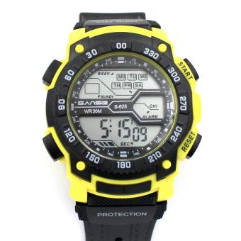 Sanse Water Resistant Uni-sex Watch TPU resin Strap-628 Yellow Price Philippines