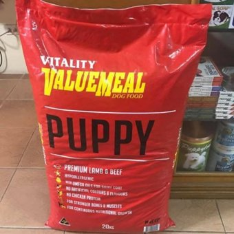 Vitality Valuemeal Puppy Food 20kg Price Philippines