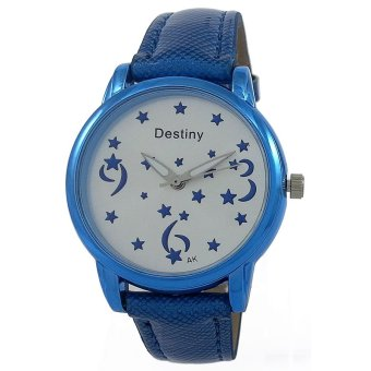 Harga Destiny Luminous Stars Women's Quartz Watch (Blue)