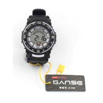Sanse Water resistant Kid's Watch TPU resin Strap s-623 Blk Price Philippines
