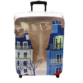 "Raffles Summer Fun Luggage Cover for 24"" Luggage (Paris) Price Philippines"