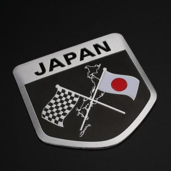 Car Vhiecle Styling Japanese Flag Waterproof Emblem Sticker Decal Decor Price Philippines