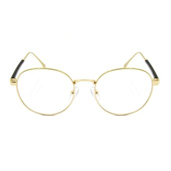 Maldives 1532-15-Y Hamilton Fashion Round Frame Eyeglasses (Clear Lens/Gold) Price Philippines