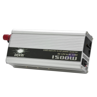 Harga 1500W DC 12V to AC 220V Power Inverter - Silver - intl