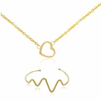 Persian Princess Farah Pure Heart 18K Gold Jewelry Necklace Set Price Philippines