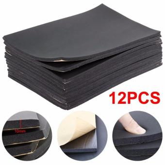 Harga Fengsheng 12 X Car Auto Van Sound Proofing Deadening Insulation 10mm Closed Cell Foam - intl