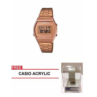 Casio Standard Series Women Brown Stainless Steel StrapWatch B640WC-5ADF (FREE CASIO ACRYLIC) Price Philippines