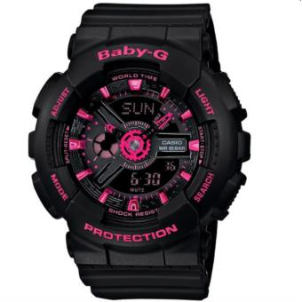 Casio Baby-G Women's Black Resin Band Watch BA-111-1A(Int: One size) Price Philippines