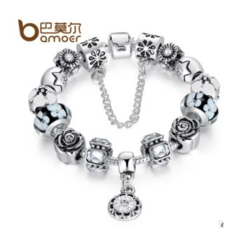 Harga Bamor bracelet pandora jewelry colored jewelry beads bracelet - intl