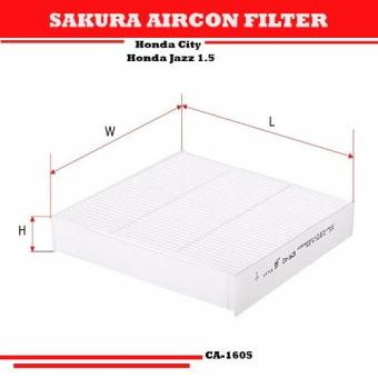 Harga Sakura Aircon Filter for Honda City & Honda Jazz 1.5 CA 1605