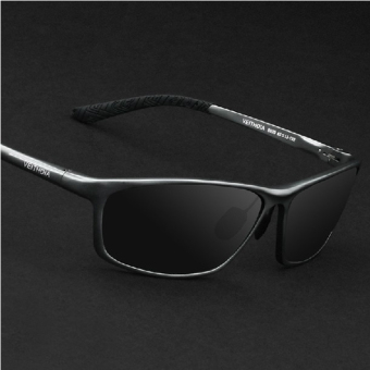 VEITHDIA 6520 Polarized Sunglasses Men gun frame gray lens Price Philippines