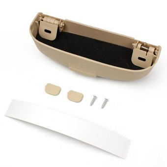 Car Glasses Case Automotive Holder Box Tidying For Mitsubishi Pajero V73 Galant Lioncel ASX RVR(Beige) Price Philippines