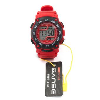 Sanse Uni-sex Watch TPU resin Strap-622 Black/Red Price Philippines