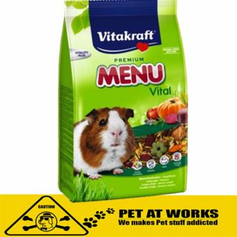 Harga Vitakraft Menu Vital Guinea Pig Food (400g) for Hamster and Rabbit Food