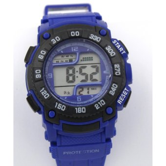Sanse Water Resistant Kid's Watch TPU resin Strap s-621 D.Blue Price Philippines
