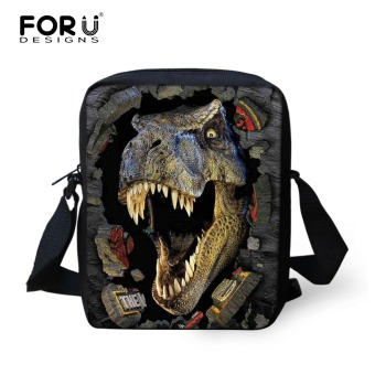 Cool Dinosaur School Bags for Boys 3D Animals Jurassic World Printed Schoolbag Children Mochila Kids Small Shoulder Book Bag - intl Price Philippines