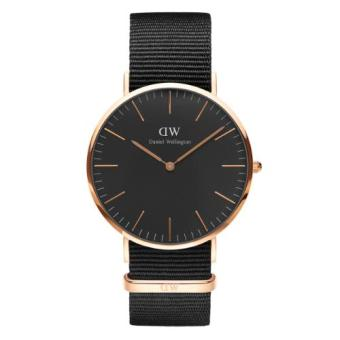 DANIEL WELLINGTON CLASSIC BLACK 40MM CORNWALL MEN'S WATCH ROSEGOLD WATCH Price Philippines