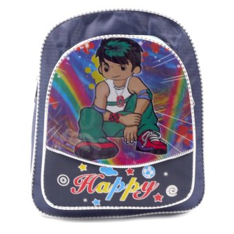 Harga HAPPY KIDS Trendy Kids Backpack Outdoor Bag (Boy Design)