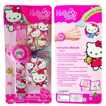 Harga Hello Kitty Kid's 24 Grids Image Projector Watch
