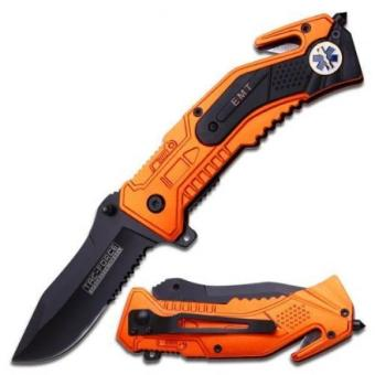 Tac Force Magnum Assisted Opening Rescue Knife - EMT Price Philippines