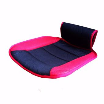 1 Piece Car Seat Cushion For Front Seat Pad Polyester Red Seat Mat Interior Car Accessories Car Seat Cover - intl Price Philippines