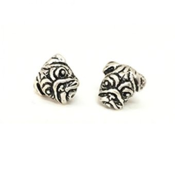 Lieblings Schatz Pug Earrings (Silver) Price Philippines