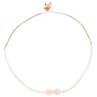 Athena & Co. Infinity Toggle Bracelet (Rose Gold) Price Philippines