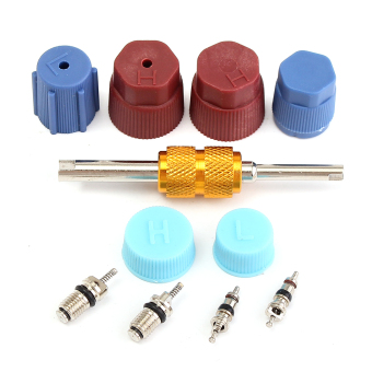 Santech Industries Automobile A/C System Caps & Valves Kit With Removal tool - intl Price Philippines