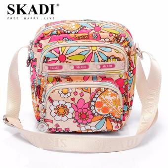 Harga Skadi 664 Korea Ladies Shoulder Bag (Symphony Flower)