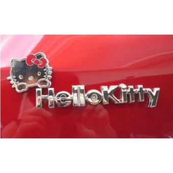 Hello Kitty Metal 3D Auto Car Emblem Decal Sticker Price Philippines