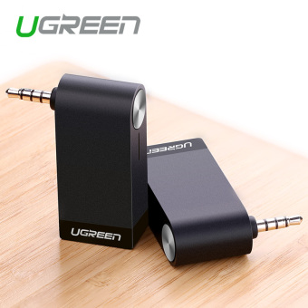 Harga Ugreen 4.1 Wireless Car Bluetooth Receiver 3.5mm Bluetooth Audio Receiver Adapter for Speaker Headphone Home Hands-Free