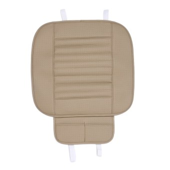 Car Seat Four Seasons General Monolithic Slip Mat Car Seat Cushion(Beige) - intl Price Philippines
