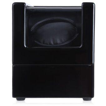 Automatic Wooden Watch Winder Display Box Deluxe Flipping Transparent Cover Jewelry Storage Case (Black) Price Philippines