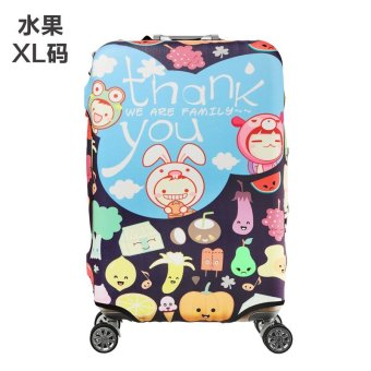 Harga Stretchable Elastic Travel Luggage Suitcase Protective Cover(XL) - intl