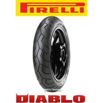 Harga Pirelli 80/90-14 Diablo Scooter 40S Tubeless FRONT Tire (Oversized Tire, Ideal for Honda Scooters)