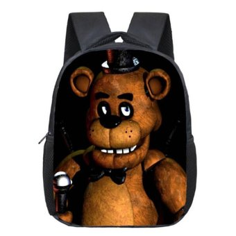 Five Nights At Freddys School Backpack Children School bag GirlsBoys Backpacks Kids Book Bag Student Daily Backpack Schoolbags - intl Price Philippines