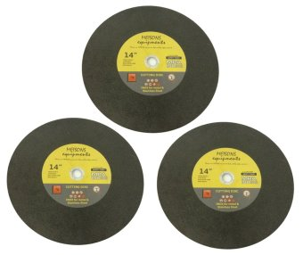 "Meisons Cutting Disc 14"" Inox for Metal and Stainless 1-1/2 ply Net Set of 3 Price Philippines"