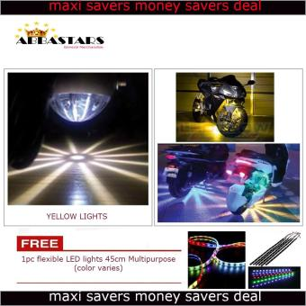 Harga Motorcycle / Car Under Glow Lights LED Yellow for XRM125 Motard