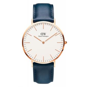 DW Daniel Wellington Somerset Blue Leather 40mm Men's Watch Price Philippines