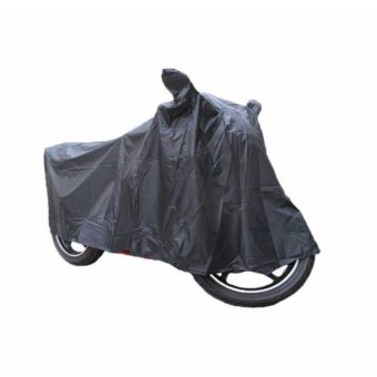 Harga Waterproof Motorcycle Cover with pocket mirror for 150cc to 250cc