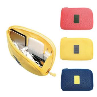 Digital Gadget Devices Cable Pouch(Yellow) Price Philippines