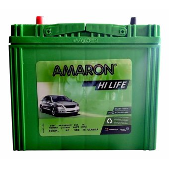 Harga Amaron Hi Life 55B24LS (1SNF - Big Post) NS60 Maintenance Free Car Battery