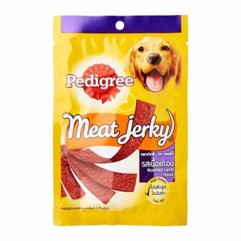 Pedigree Meat Jerky Flat Strip - Roasted Lamb Flavor